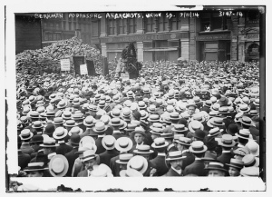 Berkman Addressing the Anarchists July 11, 1914
